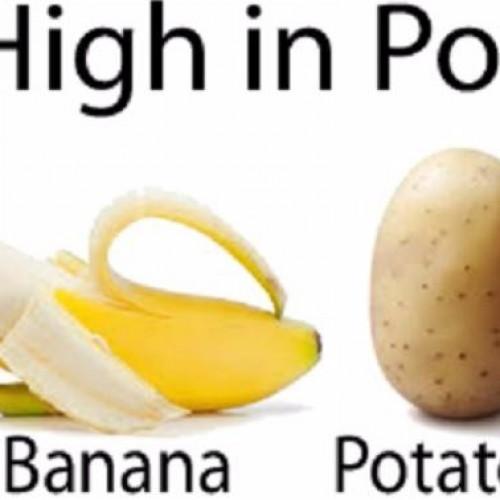 Het andere zout: Voedsel met veel Potassium