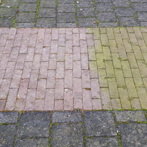 Voorkom groen aanslag op je tegels doormiddel van deze simpele maar goed werkende tip!