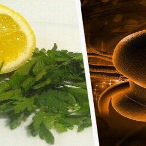 Hoe gebruik je peterselie en citroen om je nieren te ontgiften