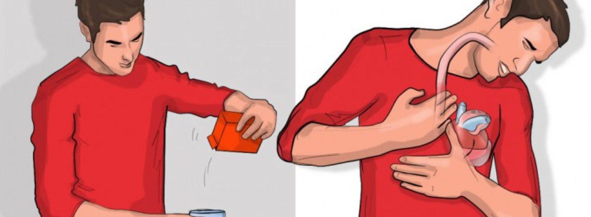 Dit gebeurt er met je lichaam als je water met baking soda drinkt!
