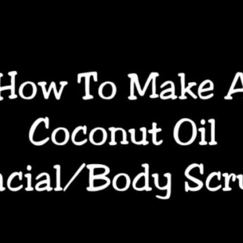 Als je je gezicht wast met kokosolie en bakingsoda 3 keer per week voor een maand lang, gebeurd er dit met je gezicht.
