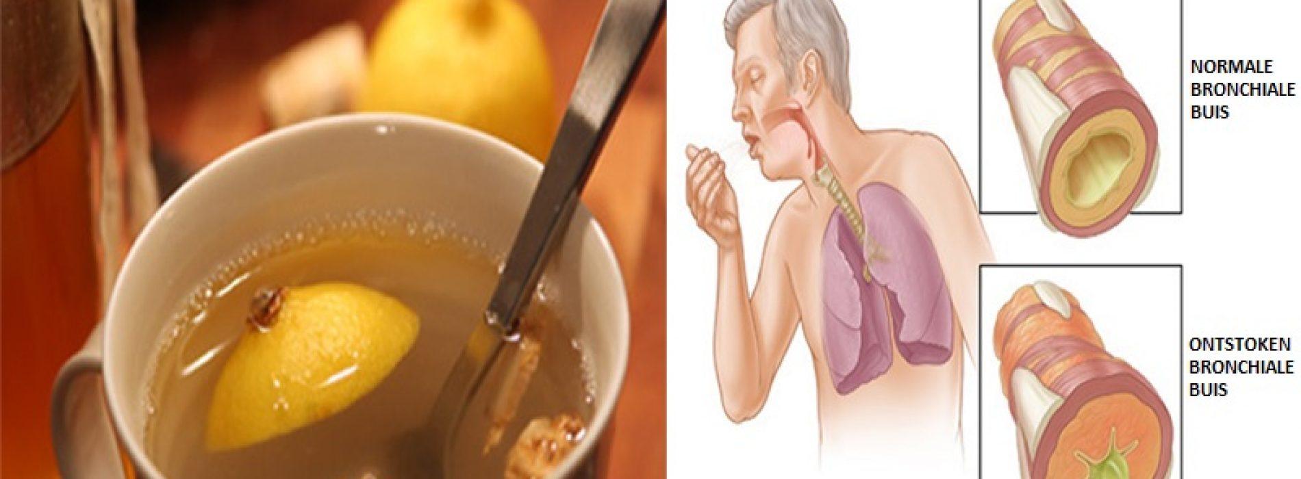 Met deze 4 ingrediënten maak jij een elixer dat al het slijm uit je longen verwijder en je immuunsysteem versterkt!