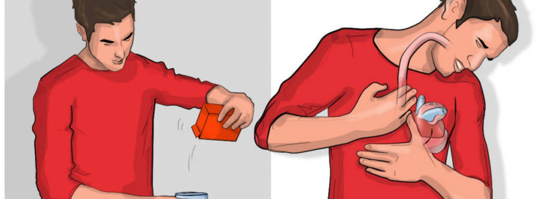 Als Je Binnen 5 Minuten Na Het Drinken Van Water Met Bakpoeder Moet