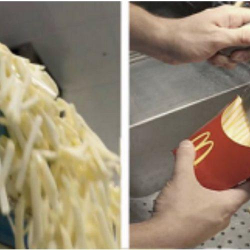 Dus zo worden de frietjes van de McDonalds gemaakt.. Ik sla voortaan over (VIDEO)