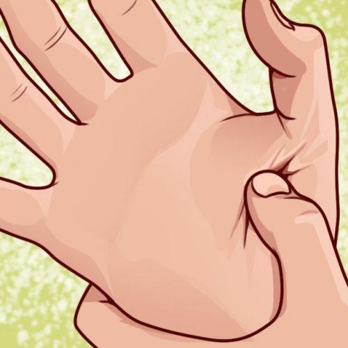 Als u het vettige deel van uw palm masseert, is dit het krachtige effect op uw lichaam