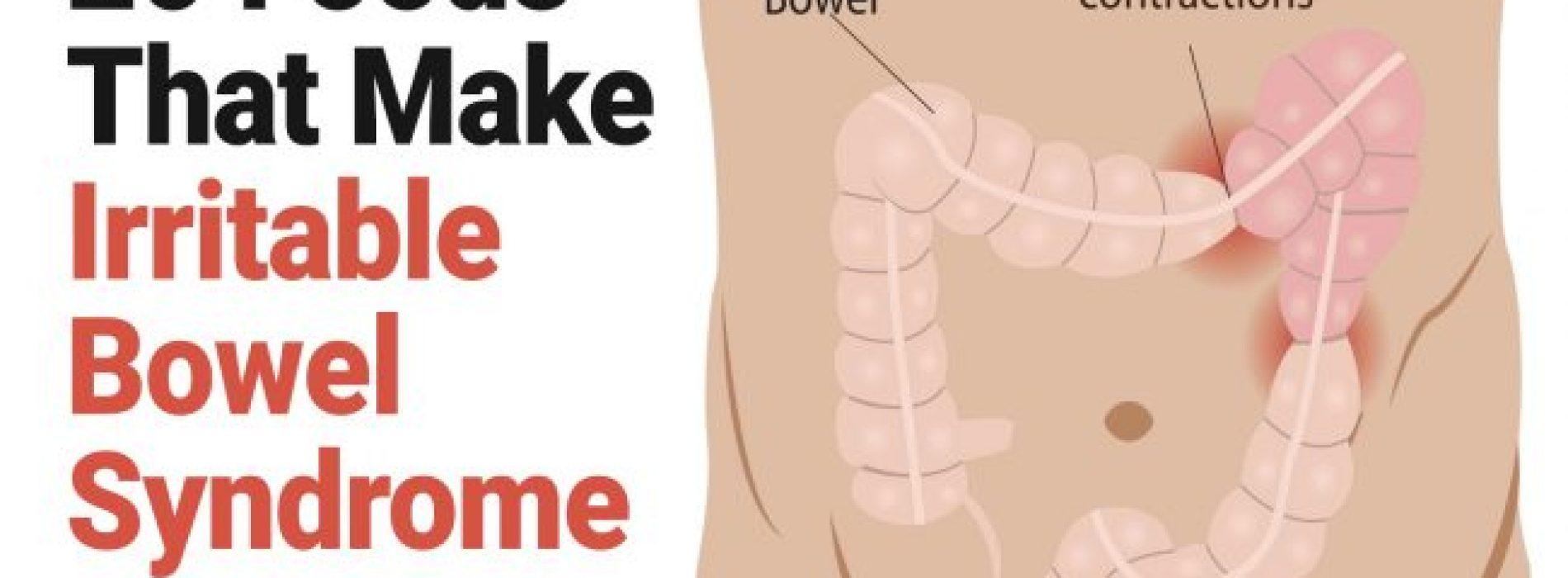 20 voedingsmiddelen die het prikkelbare darm syndroom erger maken