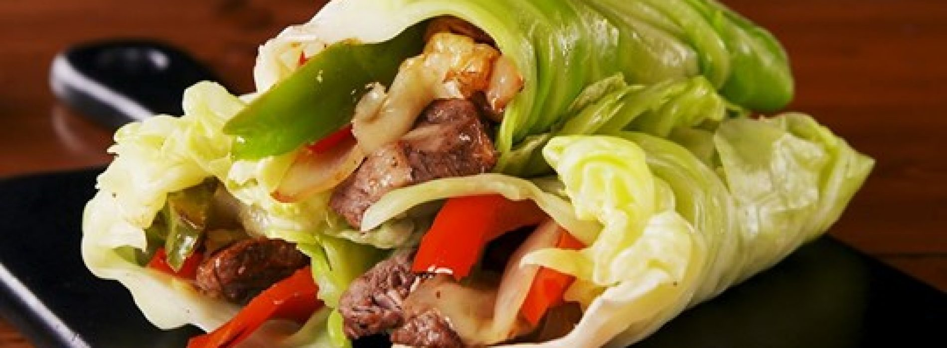Philly Cheesesteak Kool Wraps: Al het goede, geen koolhydraten