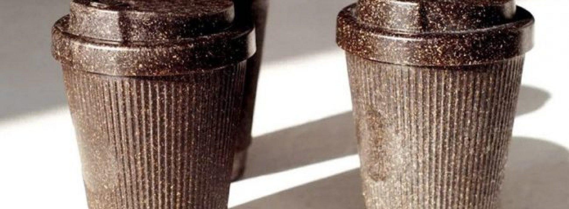Dit Berlijnse bedrijf verandert koffiedik in gerecyclede herbruikbare bekers