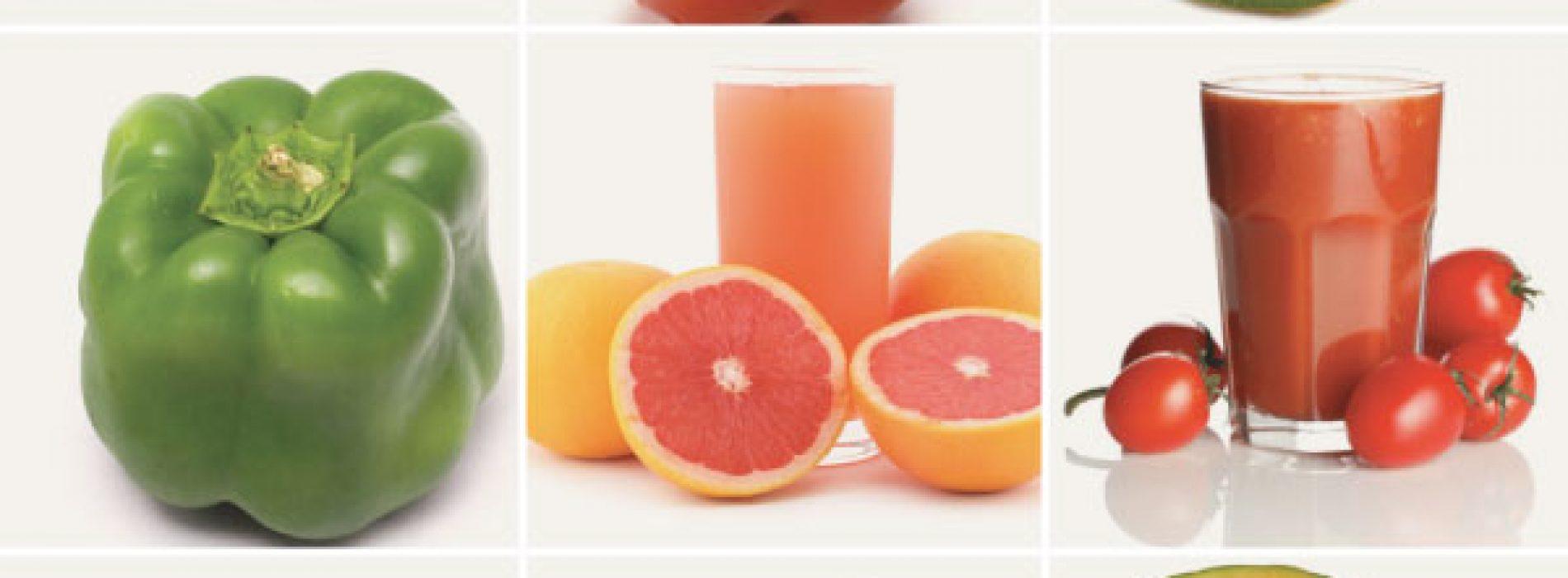 Voedingsmiddelen met meer 'vitamine C' dan een sinaasappel