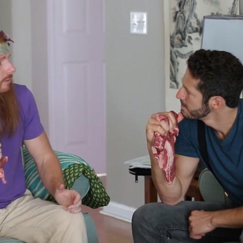 FUN – Wat als vleeseters net zulke onzin als vegetariërs zouden uitkramen?