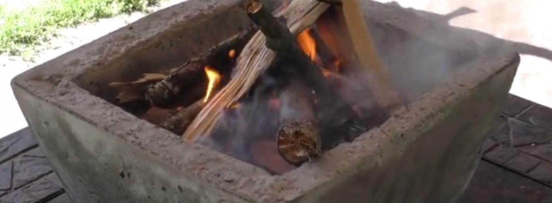 Maak zelf je eigen vuurkorf op deze manier!