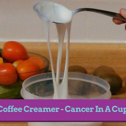Koffiecreamer maakt je langzaam dood en waanzinnig