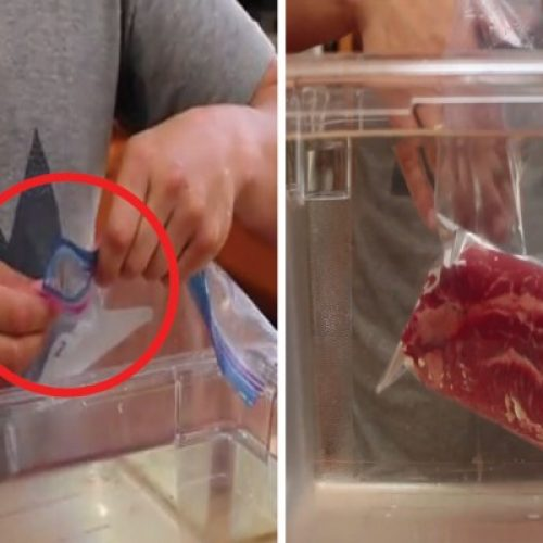 HANDIG: Op deze manier verpak je eten zonder een dure vacuumeermachine!