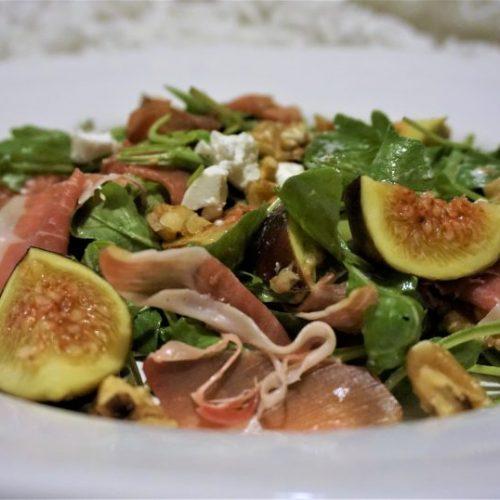 Recept: Vijgen salade met geitenkaas