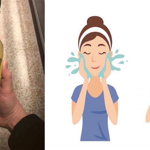 Ze smeerde wat appelazijn op haar huid, en het resultaat had ze zelf nooit zien aankomen!