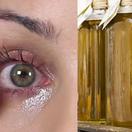 Ze smeerde wat olijfolie op haar ogen. Toen ik erachter kwam waarom, MOEST ik het proberen!