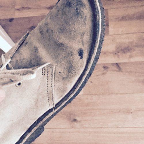Met DIT voedingsmiddel (wat je elke dag eet), worden je suède schoenen helemaal schoon.
