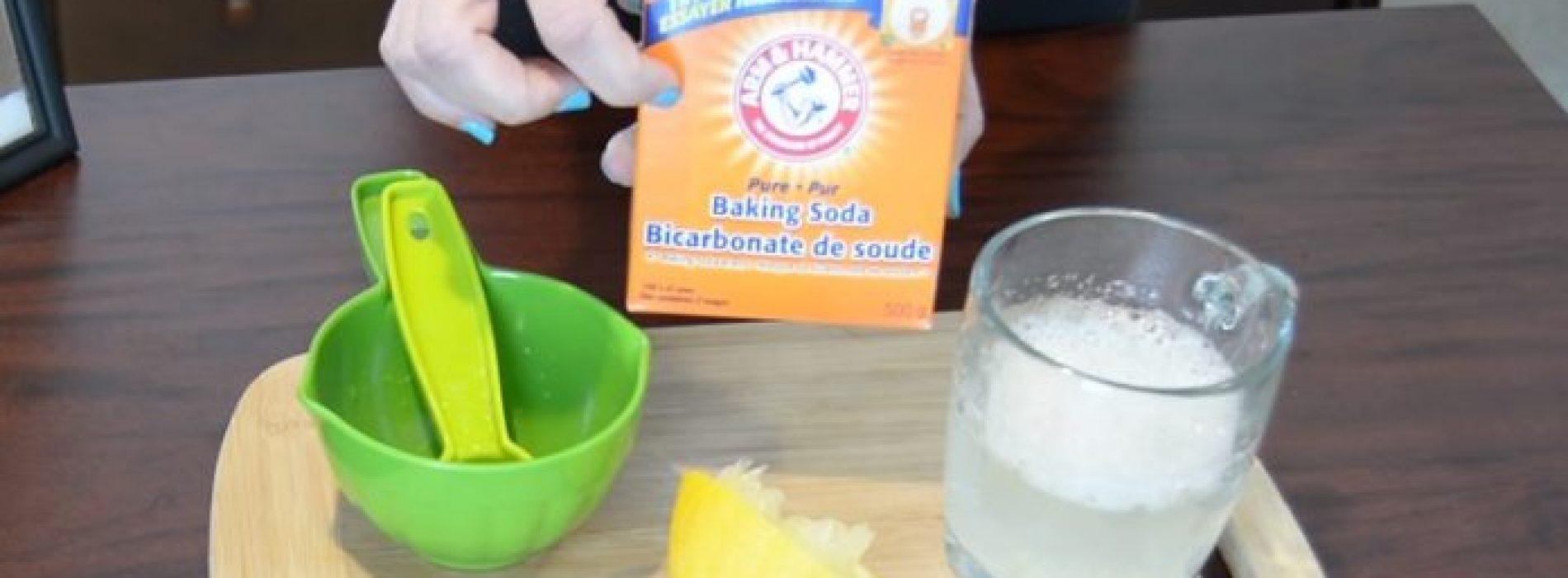 Waarom je baking soda met citroen moet gebruiken. Dit is ongelooflijk!