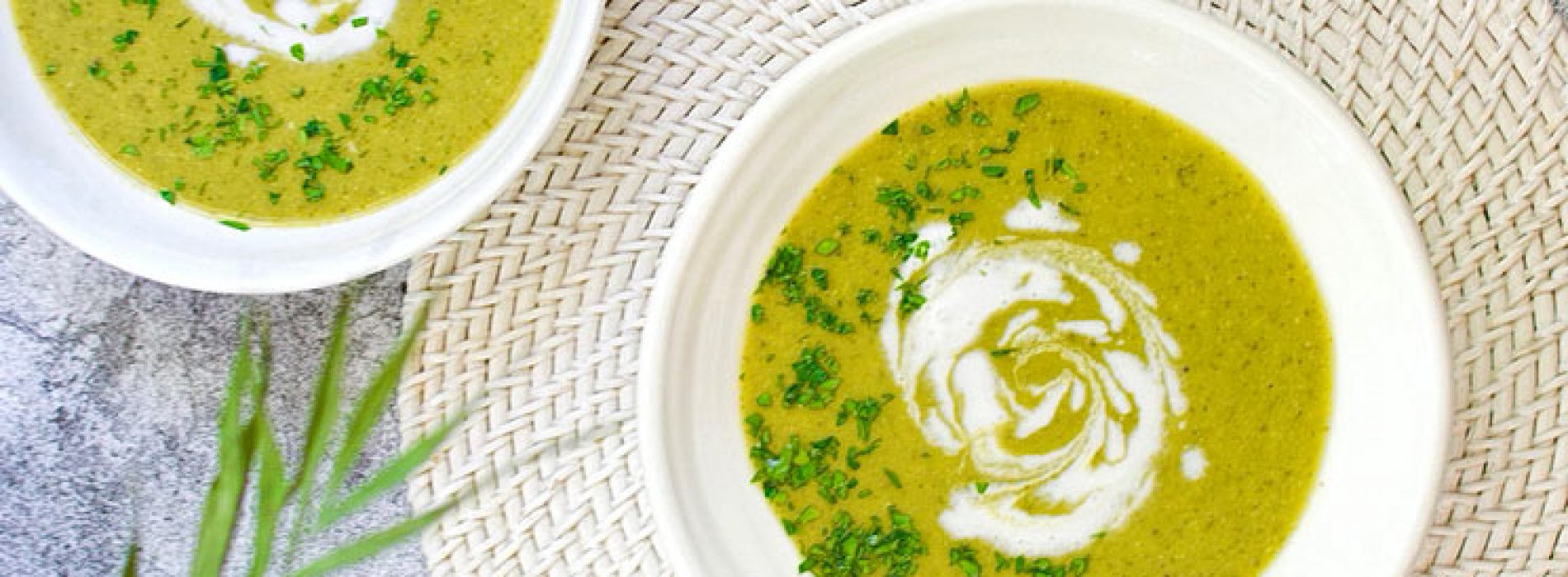 Darmgenezende knoflook Asperges Broccoli Soep – Recept