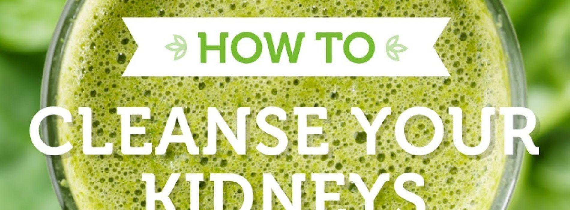 Spoel je nieren – Natuurlijke nierreinigingsdrank!