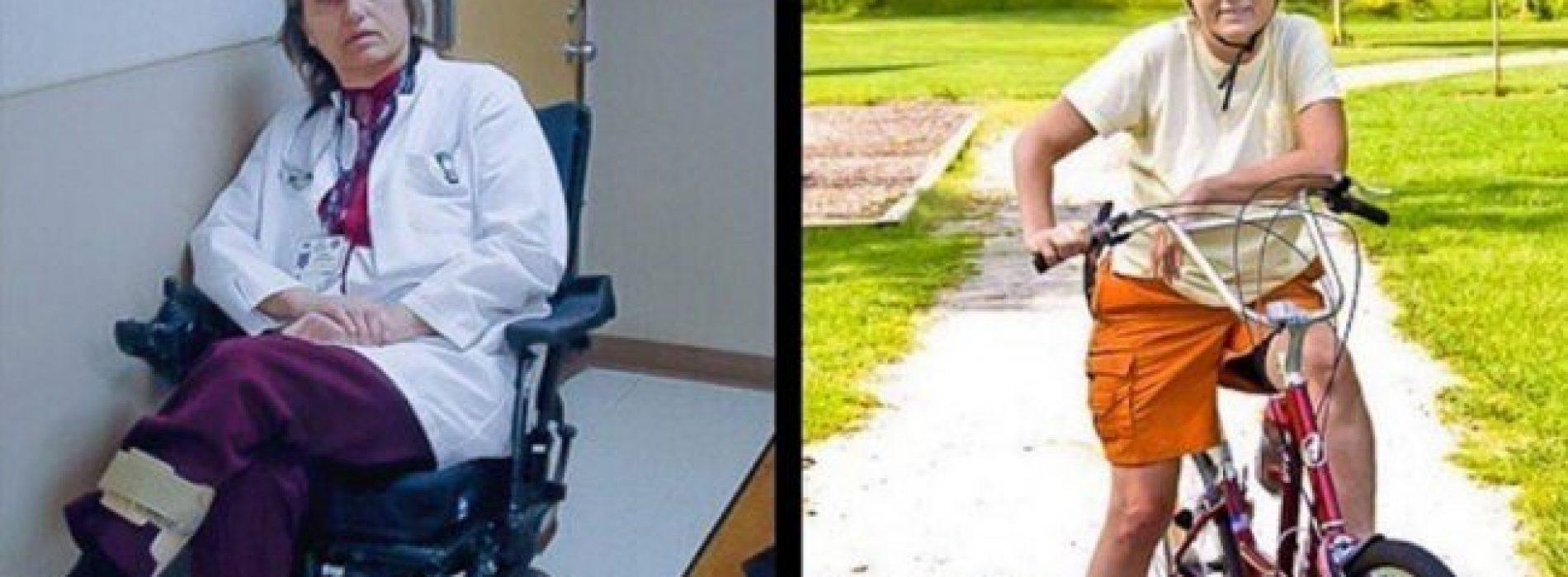 Van bedlegerig naar fietsen: ontmoet de vrouw die MS met dieet aanpakte