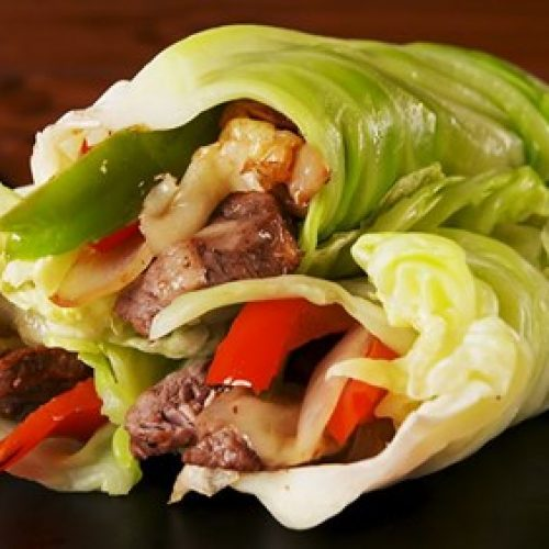 Philly Cheesesteak Kool Wraps: Al het goede, geen koolhydraten