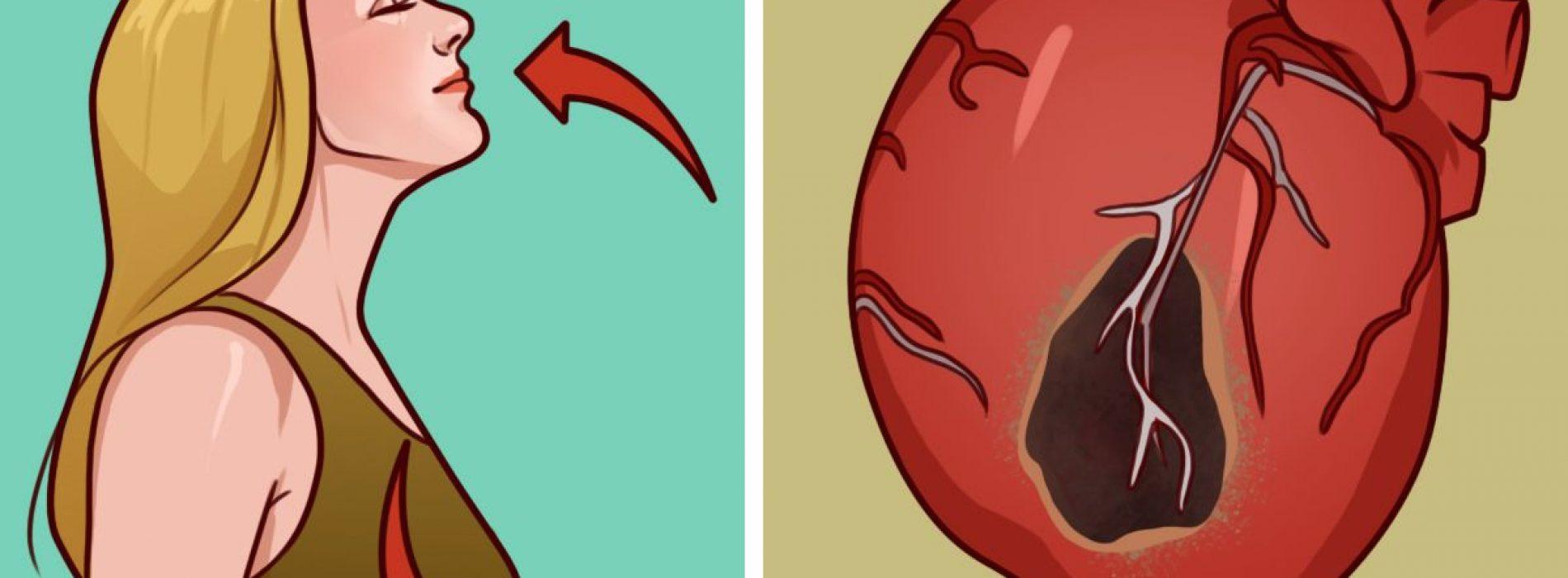 Hier is een eenvoudige ademhalingsoefening die uw risico op hartaandoeningen aanzienlijk kan beïnvloeden
