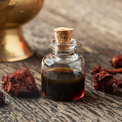 """Actieve stof in """"Dragon's Blood"""" -hars onderdrukt schimmelinfecties"""