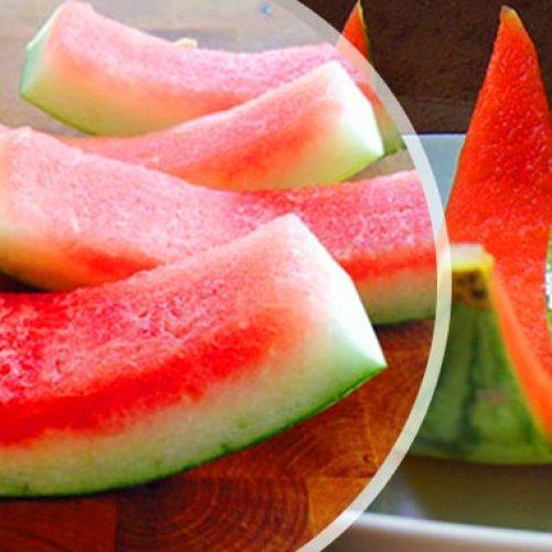 De gezondheidsvoordelen van het juicen van watermeloen met de schil