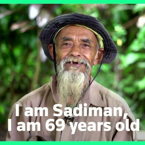 Eén man stopt de droogte en brengt welvaart naar het dorp door in 24 jaar tijd 11.000 bomen te planten