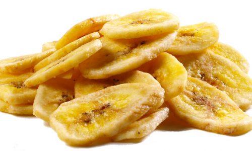 Hoe maak je gezonde gedroogde bananenchips